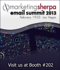 We're Exhibiting at Marketing Sherpa Summit 2013