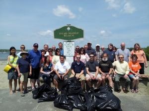 Net Atlantic's Beach Clean-up Day