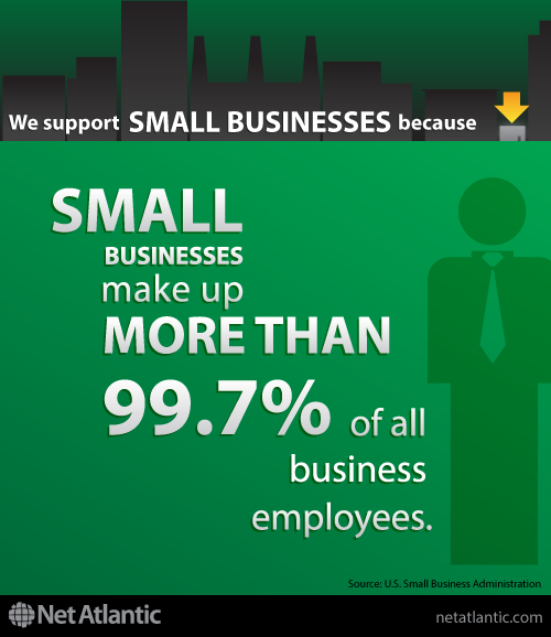 We support small business! Reason #1