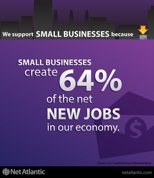 We support small business! Reason #2