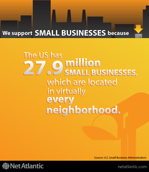 We support small business! Reason #3