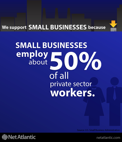 We support small business! Here's Reason #5