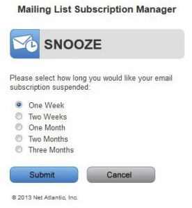 You Snooze. You Win!